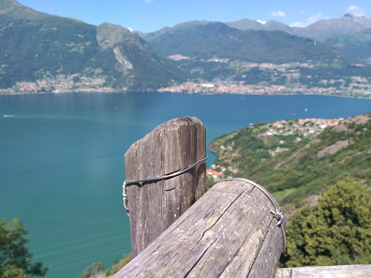 Il Lago di Como dal Sentiero del Viandante